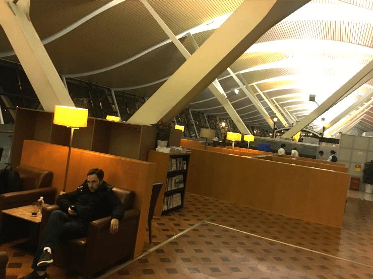 上海の浦東空港のターミナル2にあるプライオリティラウンジに行ってきました6
