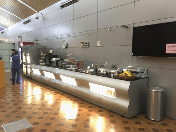 上海の浦東空港のターミナル2にあるプライオリティラウンジに行ってきました8