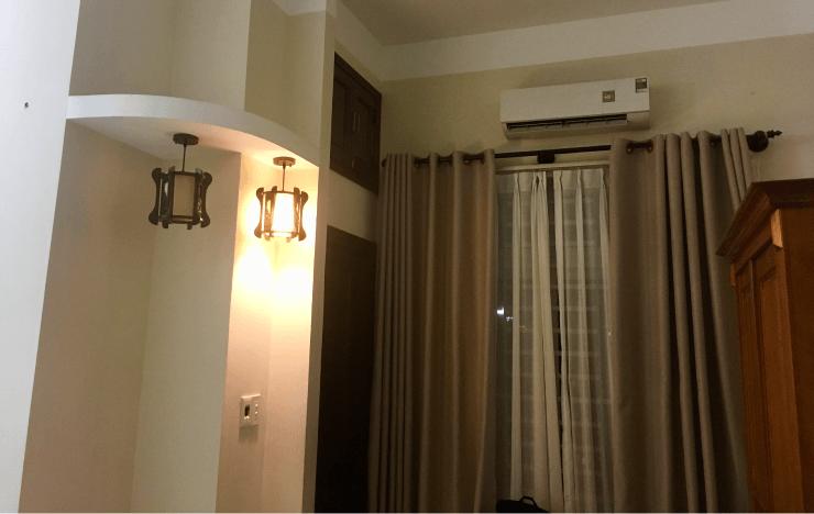 ベトナムIT留学のホテルにはエアコンがある