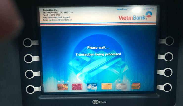ベトナムでのクレジットカードキャッシング