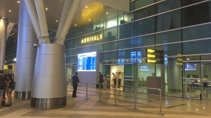 ダナン空港のの外観