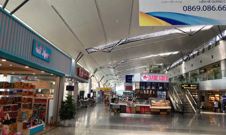 ダナン空港は綺麗
