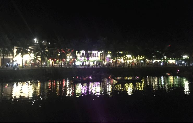 ベトナムの観光地ホイアンの景色
