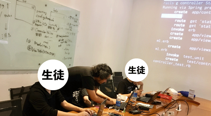 ベトナムIT留学のWEEKLY IT CAMPの授業は講師がエラーの箇所を探すのを手伝ってくれる
