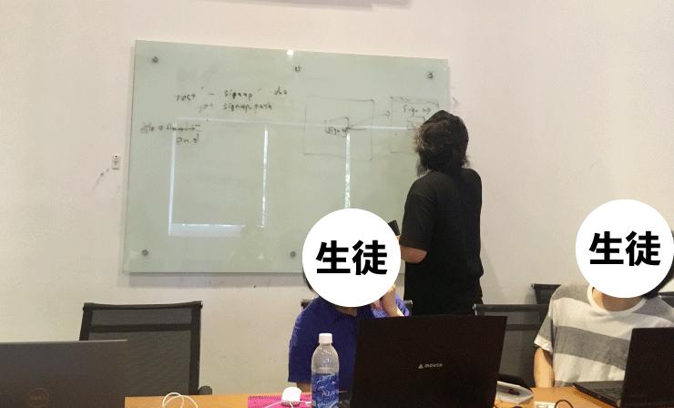 ベトナムIT留学のWEEKLY IT CAMPのプログラミングコースはわかるまで解説してくれる