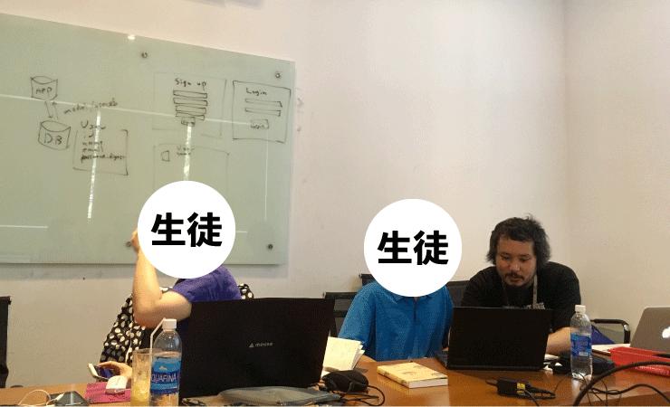 ベトナムIT留学のWEEKLY IT CAMPは講師が直接コードをみて教えてくれる