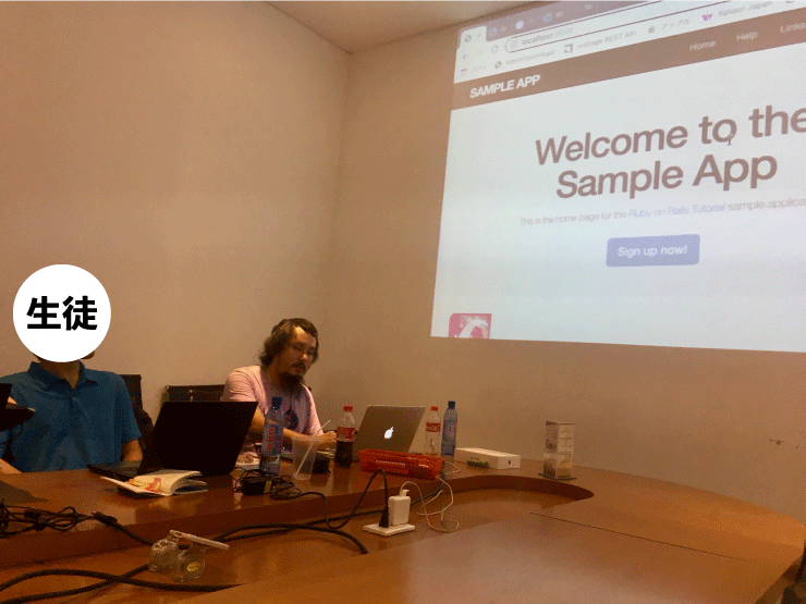 WEEKLY IT CAMPのプログラミングの授業