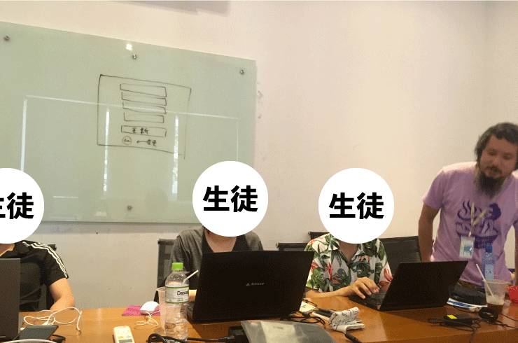 WEEKLY IT CAMPのプログラミングコースの参加者