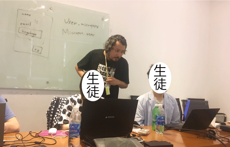 ベトナムIT留学のWEEKLY IT CAMPで講師が近い少人数制