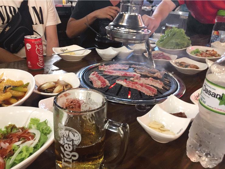 韓国焼肉がめちゃうまい