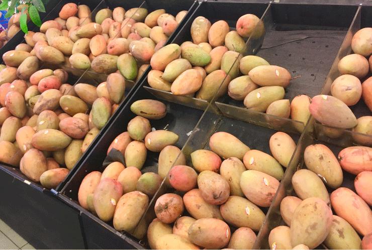 マンゴーも安い!