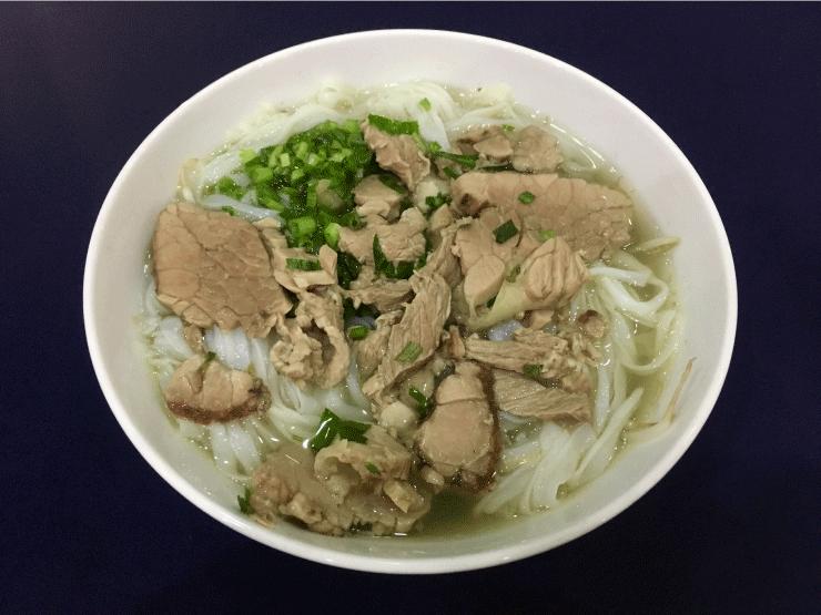 晩御飯にベトナムのフォー