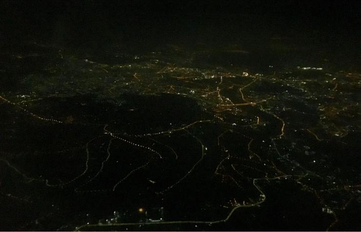 ホーチミンの夜景