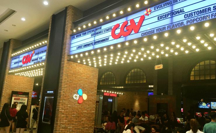 ベトナム、ダナンのVINCOMプラザ(ビンコムプラザ)の4階に映画館もある