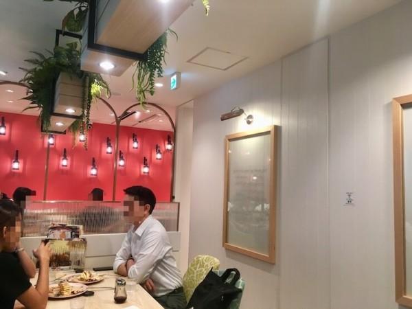 ベル・ヴィル (belle-ville pancake cafe)の中