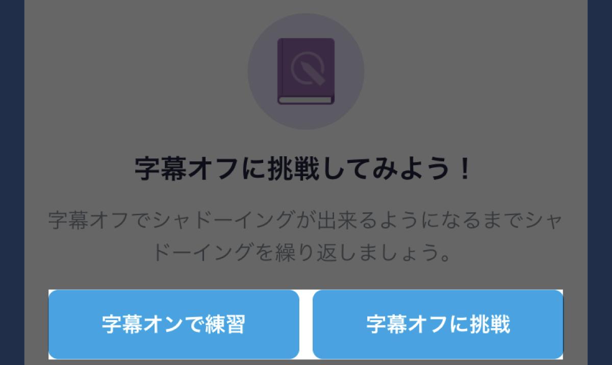 字幕のオンオフは最初にも選べます。